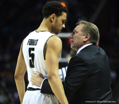 NCAA Basketball 2015 - Michigan St. Beat Georgia 70 - 63