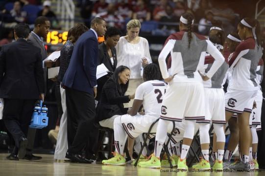 NCAA Women's Basketball 2015 Division1 Championships - 4th Round: Florida State vs South Carolina MAR 29