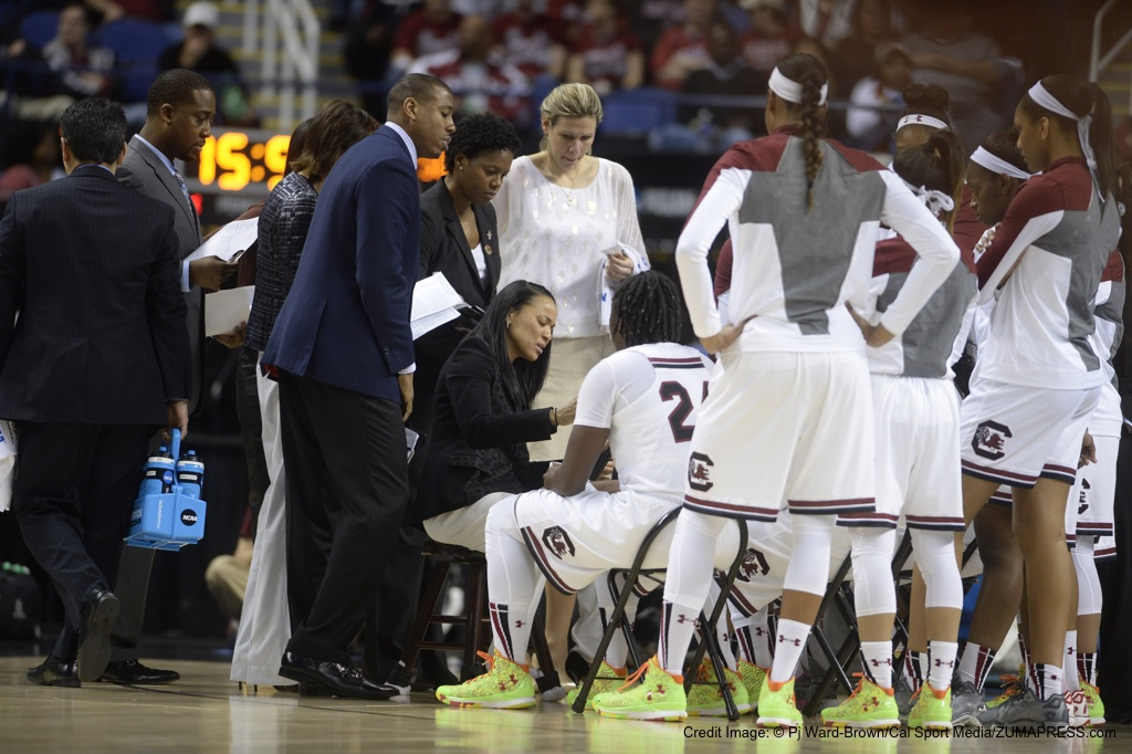 NCAA Women's Basketball 2015 Division1 Championships - 4th Round: Florida State vs South Carolina MAR 29