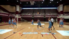 Gooroo Drill: 3-on-0: Screen Away: Roller Lay-up