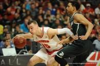 NCAA Men's Basketball 2015: Big Ten Championship Wisconsin vs Michigan State MAR 15