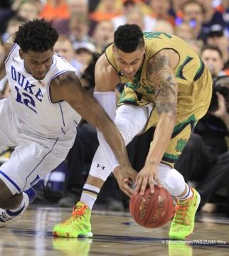 NCAA Basketball 2015 - Irish Defeat Tar Heels 90-82