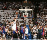 May 10, 2008 - Orlando Magic's Hedo Turkoglu shoots their final shot with 2.5 seconds left on the clock during the Magic's 90-89 loss to the Detroit Pistons in Game 4 of the NBA Eastern Conference semi-finals at Amway Arena in Orlando, Florida, Saturday, May 10, 2008. (Gary W. Green/Orlando Sentinel/MCT) (Credit Image: � Gary W. Green/MCT/ZUMAPRESS.com)