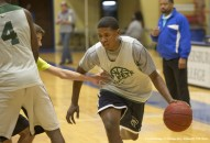 Feb. 24, 2015 - Florida, U.S. - Darius Banks, 16 works out during St. Pete High School  basketball practice Tuesday February 24, 2015. .JOHN PENDYGRAFT     Times (Credit Image: � Tampa Bay Times/ZUMA Wire)