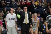 Saint Mary's Women's Basketball versus Gonzaga.Gaels defeated the Bulldogs 54-51.  Jan. 10, 2013