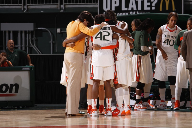 2012 Miami Hurricanes Women's Basketball vs Longwood