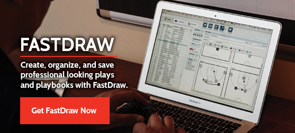 Create, organize, and save professional looking plays with FastDraw