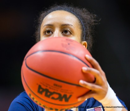 March 23, 2015: Brianna Kiesel #3 of the Pittsburgh Panthers shoots a free throw during the 2015 NCAA Division 1 Women's Basketball Championship 2nd round game between the University of Pittsburgh Panthers and the University of Tennessee Lady Vols at Thompson-Boling Arena in Knoxville TN(Credit Image: © Tim Gangloff/Cal Sport Media/ZUMAPRESS.com)