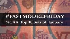 FastModel Friday: Top 10 NCAA Sets of January