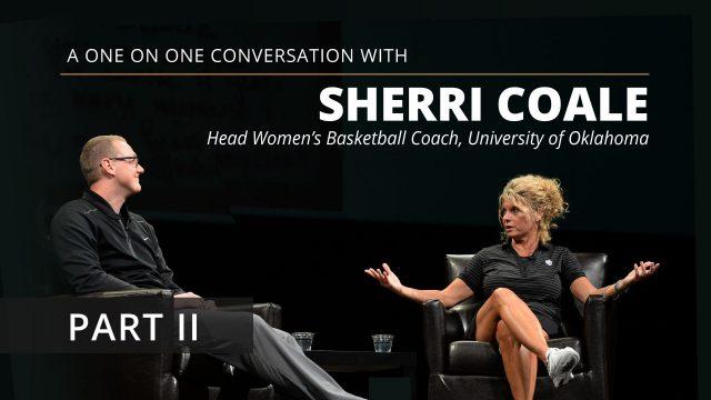 Team Culture Tips – Oklahoma Coach Sherri Coale