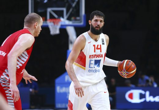 Sept. 12, 2015 - Lille, France, France - Nikola Mirotic  (Credit Image: © Panoramic via ZUMA Press)