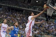 July 9, 2016 - Turin, Turin, Italy - Roko Ukic in action during the basketball FIBA Olympic qualifying tournament match beetwen Croatia and Italy..Croatia wins 84-78 over Italy at overtime. (Credit Image: � Nicolò Campo/Pacific Press via ZUMA Wire)