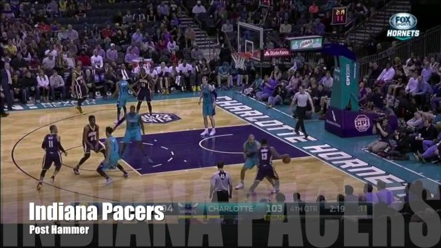 #PlayOTD – Indiana Pacers Post Hammer