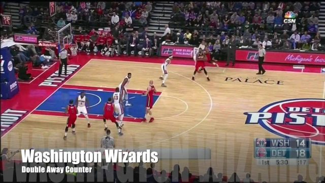 #PlayOTD – Washington Wizards Double Away Counter