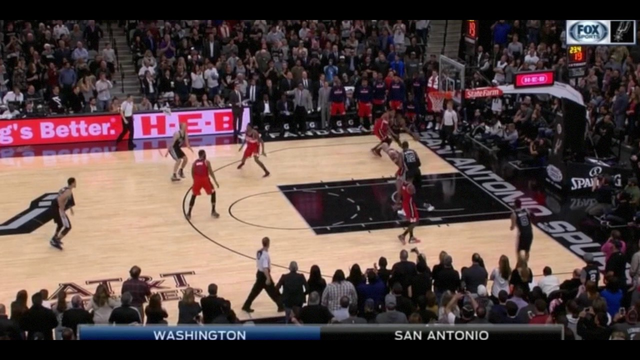 #PlayOTD: Spurs EOG Baseline Drive & Drift
