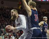 Mar 07, 2017 Las Vegas, NV, U.S.A. Gonzaga Bulldogs center Przemek Karnowski (24) scored 15 points, 2 assist, 4 block shots and 2 steals during the NCAA West Coast Conference Men's Basketball Tournament Championship between Gonzaga Bulldogs and Saint Mary's Gaels 74-56 win at Orleans Arena Las Vegas, NV. Thurman James / CSM(Credit Image: © Thurman James/CSM via ZUMA Wire)