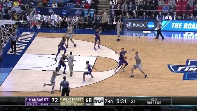 #PlayOTD – Wake Forest – Fake Cross Lob