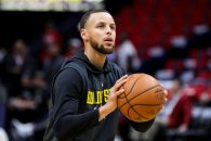 May 04, 2018: Golden State Warriors guard Stephen Curry (30) warms up against the New Orleans Pelicans at the Smoothie King Center in New Orleans, LA. Stephen Lew/CSM(Credit Image: © Stephen Lew/CSM via ZUMA Wire)