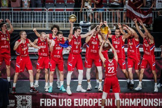 Serbia FIBA U18 champs