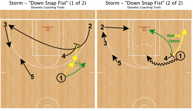 Storm - Down Snap Fist