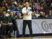 Nov 23 2018 Las Vegas, NV U.S.A. Michigan State head coach Tom Izzo during the NCAA Men's Basketball Continental Tire Las Vegas Invitational between Texas Longhorns and the Michigan State Spartans 78-68 win at The Orleans Arena Las Vegas, NV. Thurman James / CSM(Credit Image: © Thurman James/CSM via ZUMA Wire)