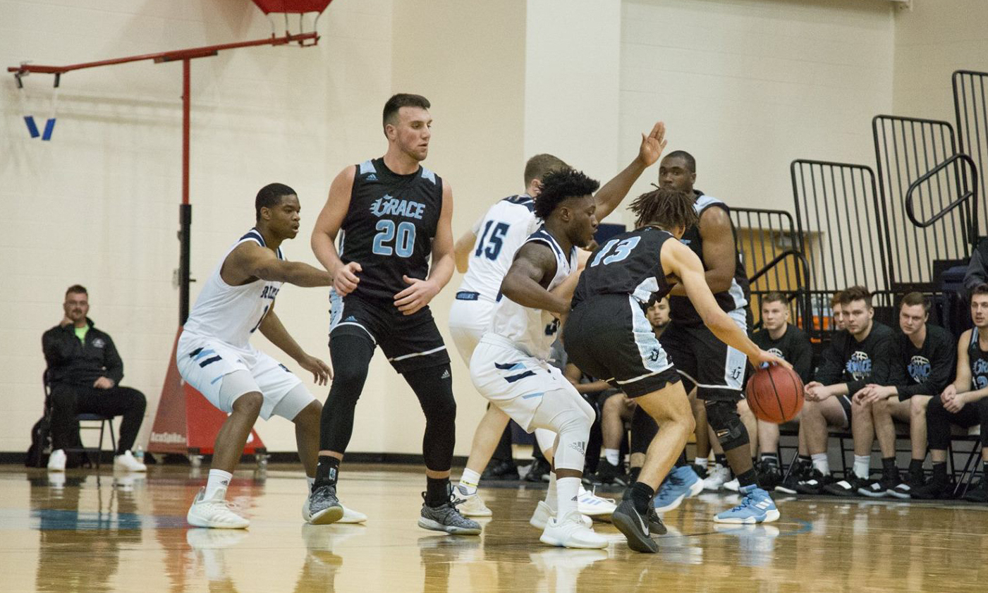 BJU Bruins ball screen defense