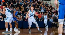 BJU Bruins men's basketball vs PCC, Jan. 18, 2019 (BJU Marketing/Derek Eckenroth)