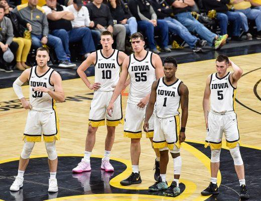 Iowa Hawkeyes, Iowa basketball, #Top25XsOs, Fran McCaffery, Big Ten, NCAA, college basketball, FastModel Sports, FastDraw, XsOs, play diagrams, offense, coaching