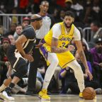 Anthony Davis, Los Angeles Lakers, NBA, post up, FastModel Sports, Plays of the Week, FastDraw, play diagrams, offense, basketball, coach