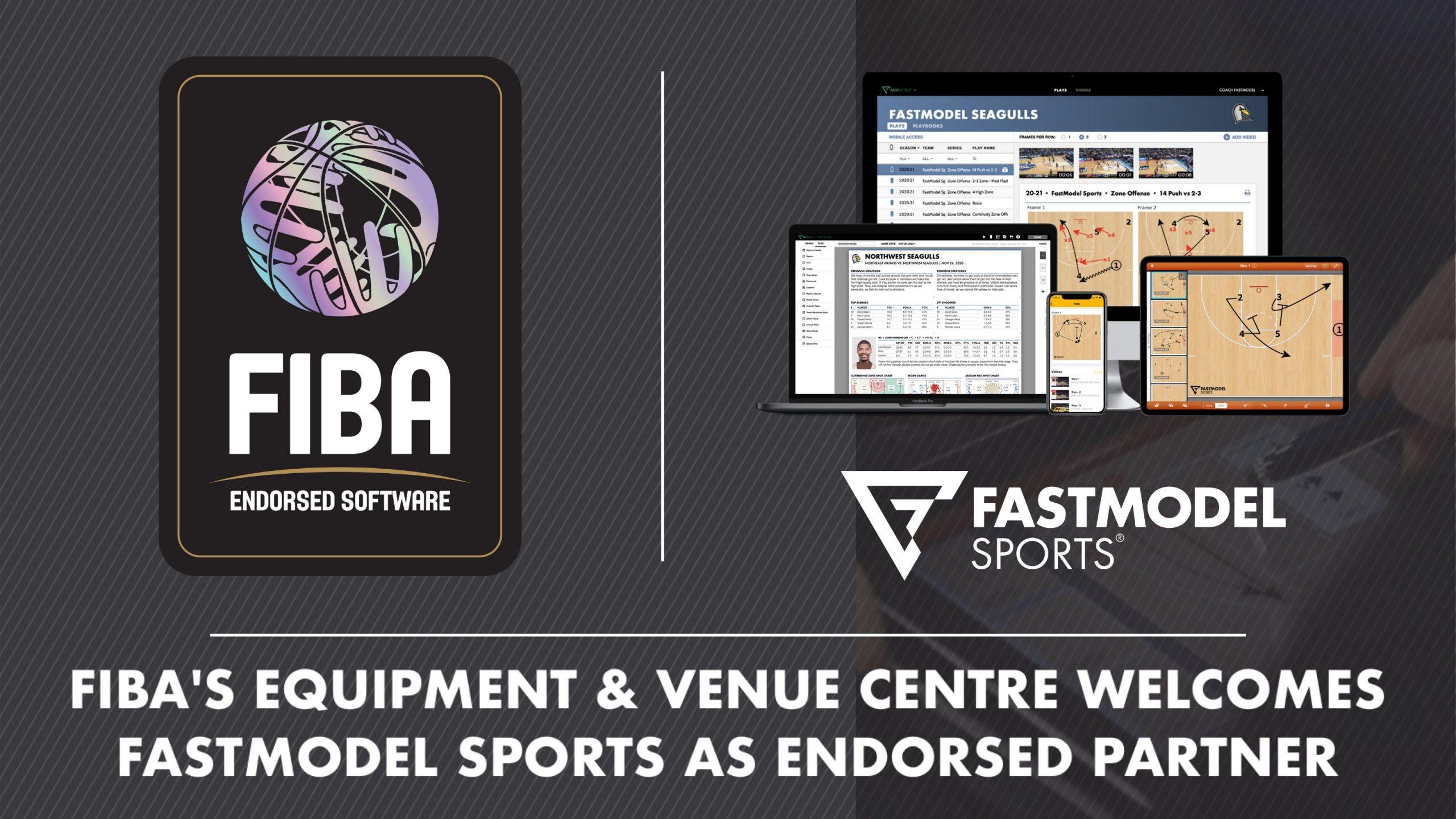 FIBA, FastModel Sports, basketball, coaching, international basketball, XsOs, technology, software, play diagramming, scouting, FastDraw, FastScout, partnership
