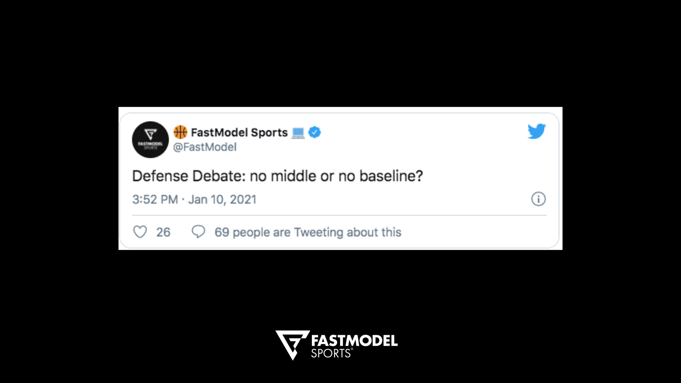 defense, basketball defense, defense concepts, middle vs baseline, basketball philosophy, coaching philosophy, basketball, coaching, FastModel Sports, FastDraw, Twitter
