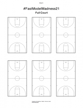 blank diagrams FastDraw basketball coaching plays