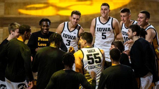 Iowa Hawkeyes men's basketball team Fran McCaffery Luka Garza