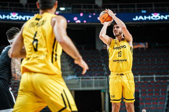Lenovo Tenerife Basketball Champions League FastModel Sports XsOs