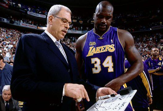 Phil Jackson, Lakers, Shaq, FastModel Sports, coaching, play diagram