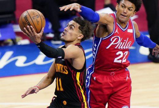 Trae Young Atlanta Hawks NBA Playoffs FastModel Sports