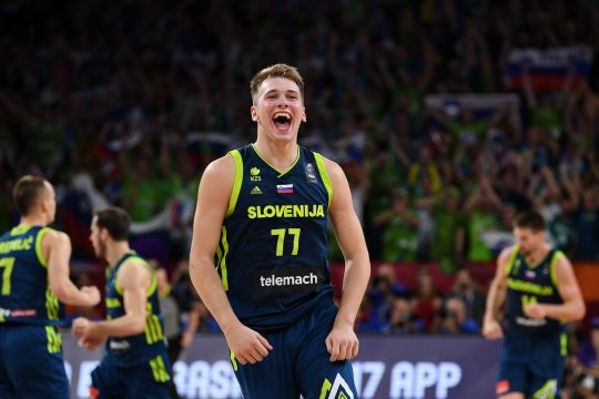 Luka Doncic Slovenia Tokyo 2020 Olympic basketball preview, FastModel Sports OlympicXsOs