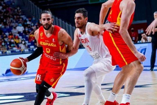 Spain basketball, España baloncesto, Olympic basketball, #OlympicXsOs, FastModel Sports, offense, FastDraw, Ricky Rubio
