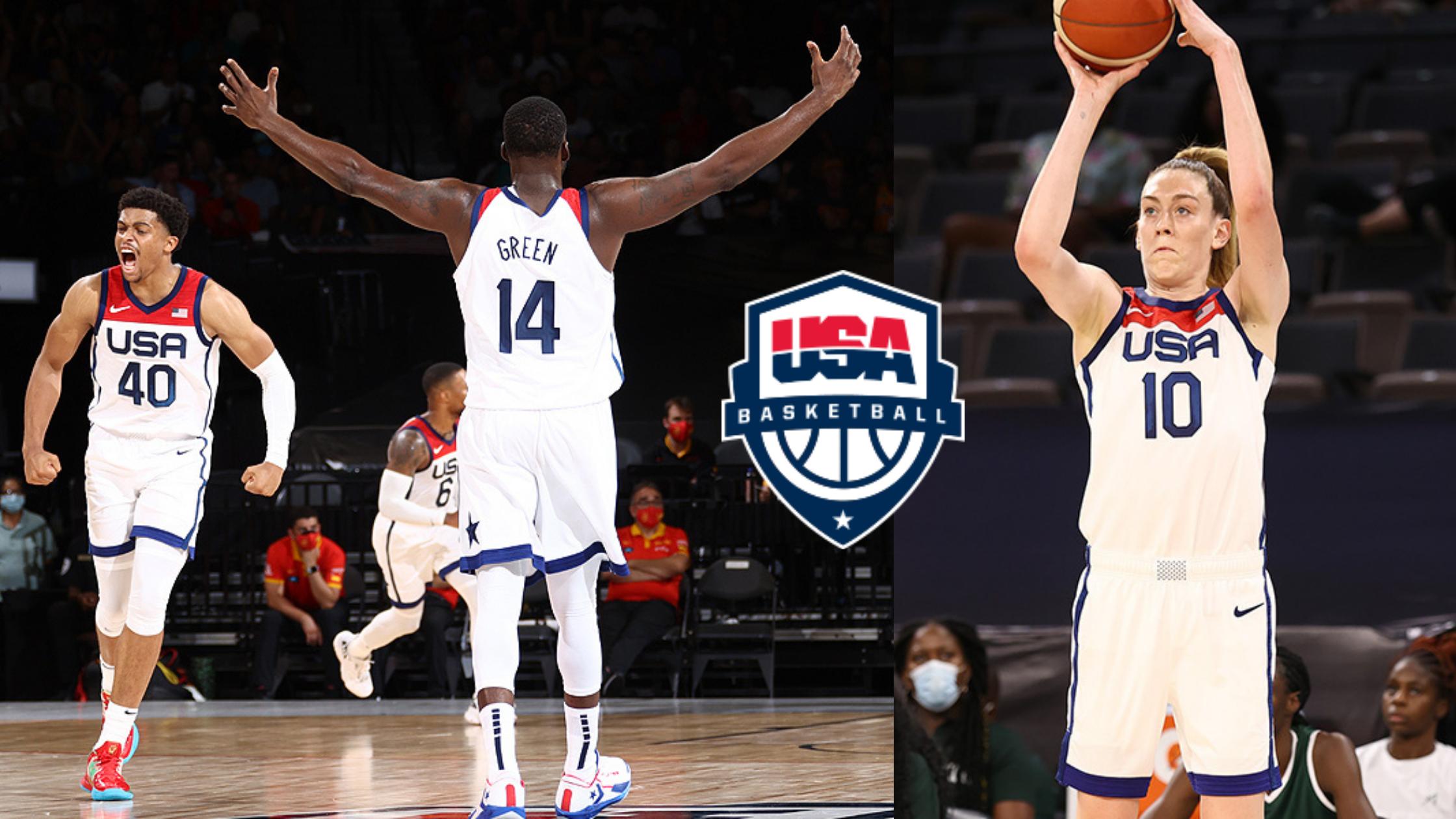 Team USA basketball, Olympics, FastModel Sports, Tokyo 2020
