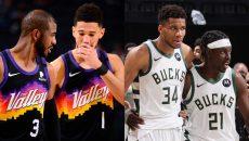 2021 NBA Finals, Phoenix Suns, Milwaukee Bucks, FastModel Sports