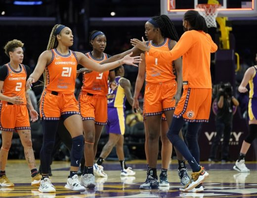2021 WNBA Playoffs Connecticut Sun