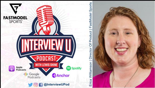 Erica Williamson FastModel Sports InterviewU Podcast