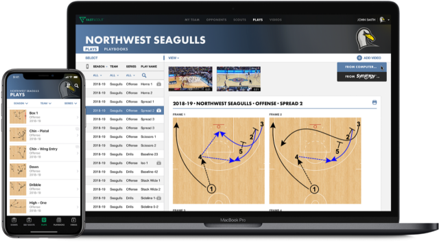 FastScout web FastDraw FastModel Sports basketball coaching software