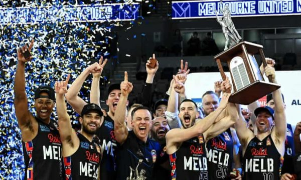 Melbourne United basketball NBL title 2021 FastScout Pro FastModel Sports
