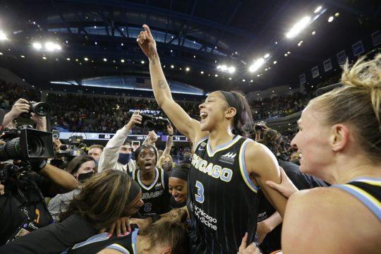 Chicago Sky WNBA Finals FastModel Sports